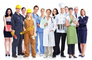 Lavoratori-abbigliamento