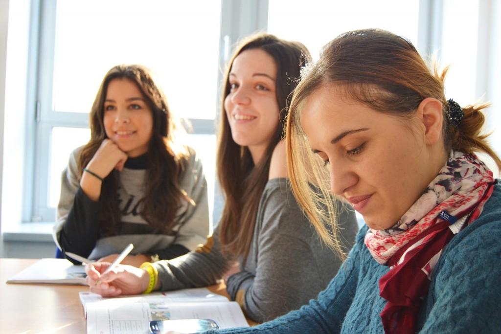 studenti durante uno stage scuola-lavoro